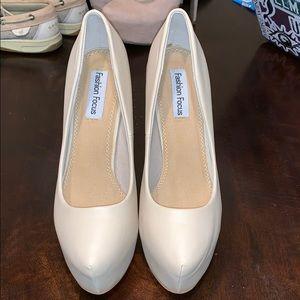 Shoes - Tan high heels
